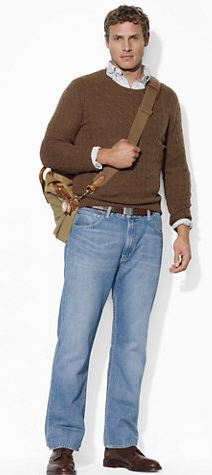 """ralph lauren big and tall jeans in 36"""" and 38"""" inseams"""
