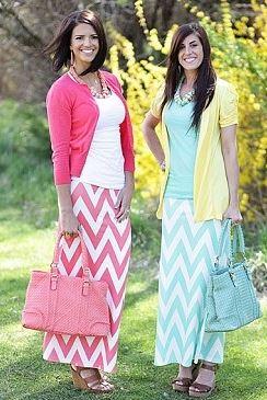 Women's Long Maxi Skirts