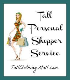 tall personal shopper service