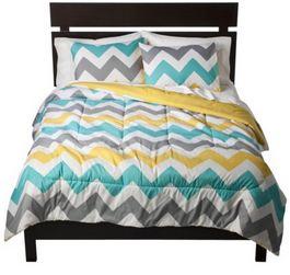 chevron extra long bedding