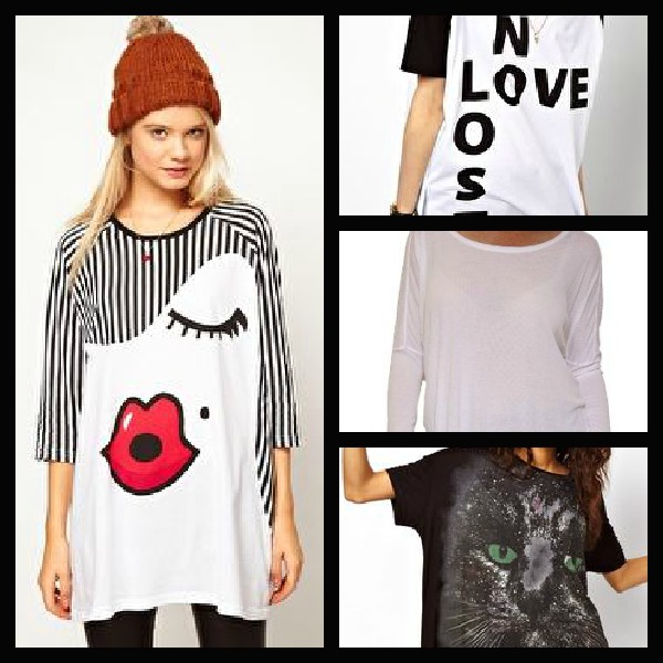 women's oversized t-shirts
