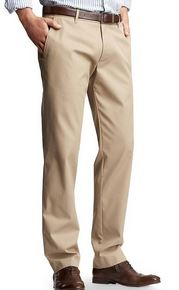 gap tailored tall khaki pants