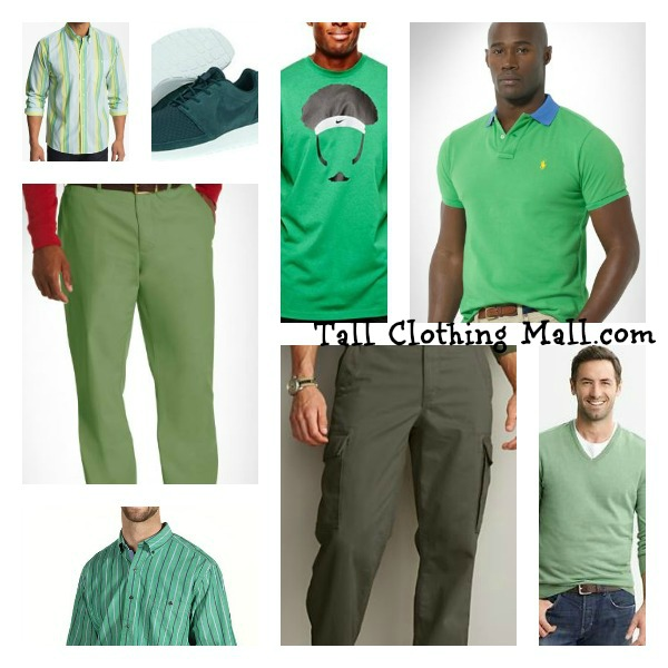 green big and tall clothing