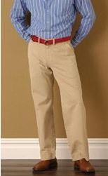 tall and thin custom made khaki pants