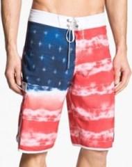 flag board shorts