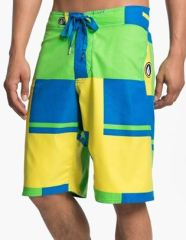 colorblock board shorts men's