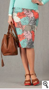 modern tall pencil skirt