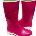 Women's large size rain boots