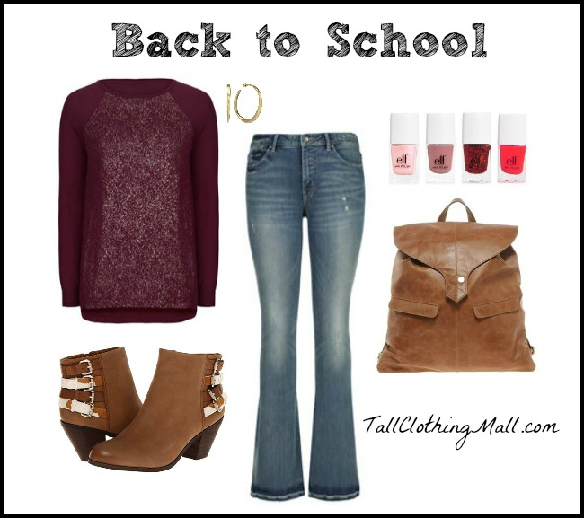 back to school tall girl outfit