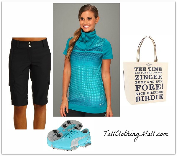 womens tall golf outfit