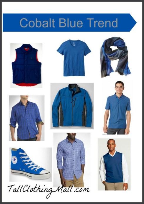 tall cobalt blue trend