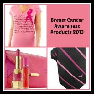 breast cancer awareness products 2013