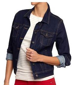 old navy tall denim jacket