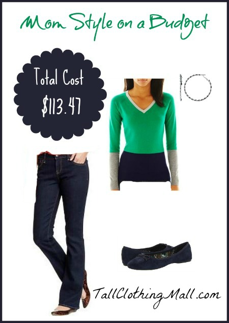 tall mom style on a budget