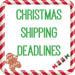 christmas shipping deadlines 2013