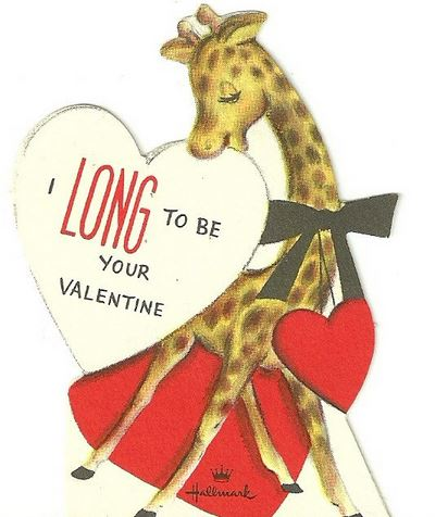long to be your valentine card