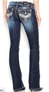 "miss me rhinestone jeans 34"" inseam"