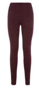 burgundy tall leggings