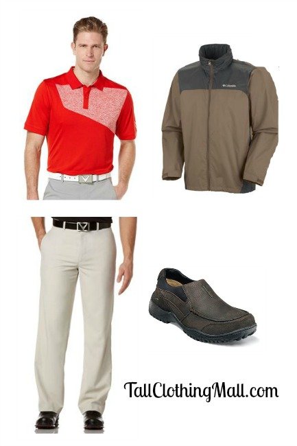 big and tall golf outfit
