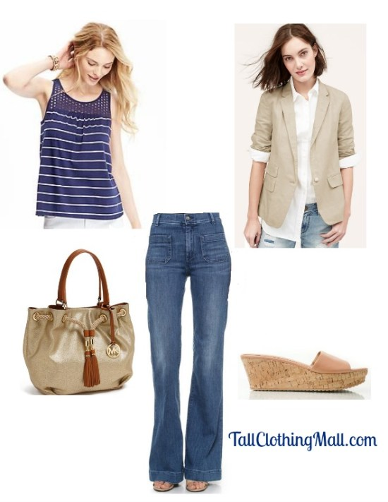 womens tall nautical outfit
