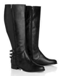 black leather boots for tall women