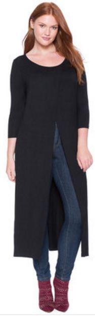 plus size tunics for tall women