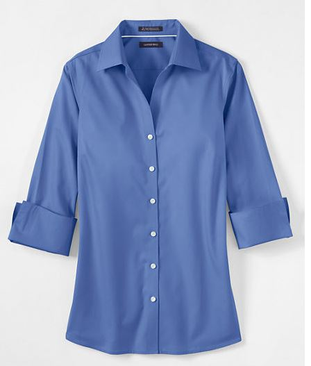 womens tall wrinkle free shirts