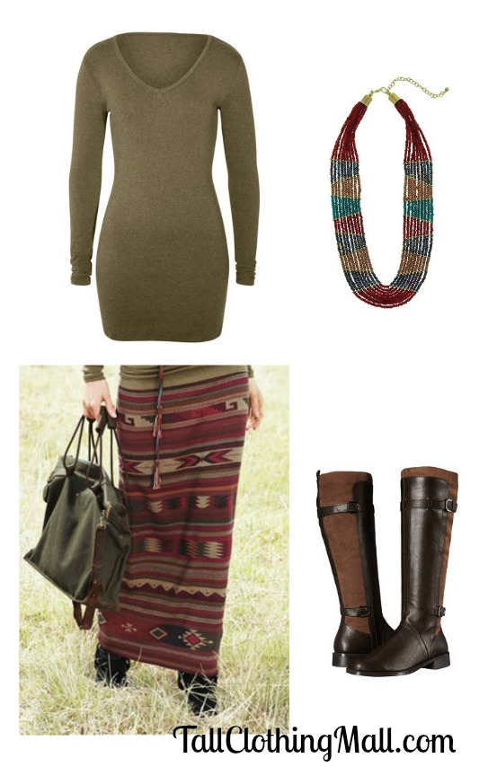 mexican rug skirt