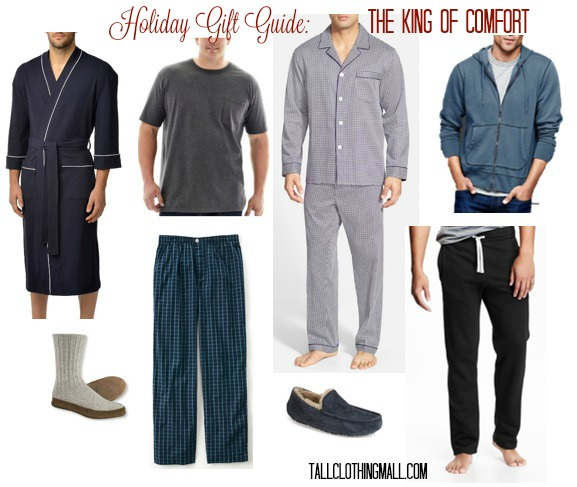 comfort gifts for tall men