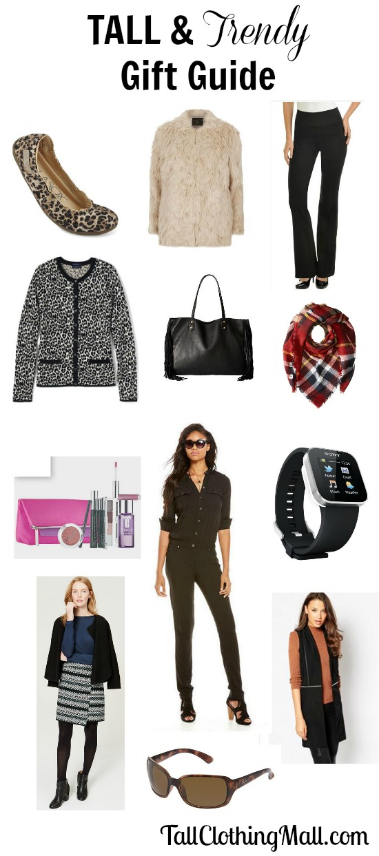 tall women's gift guide