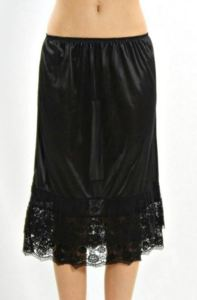 black skirt extender