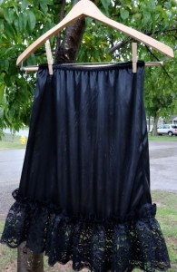 skirt extender in custom lenth