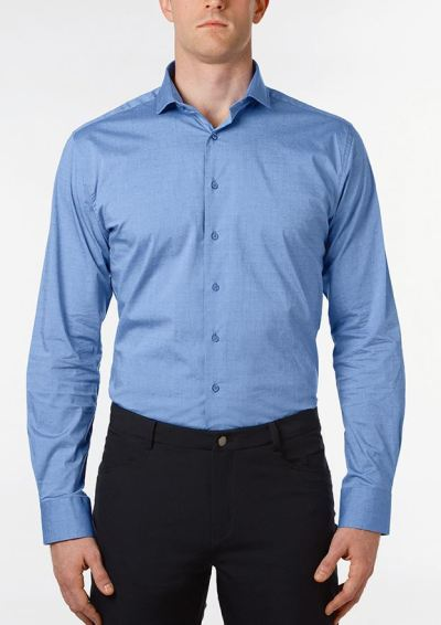 men's slim and tall button up shirt