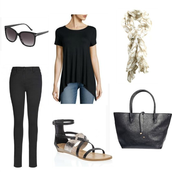 stylish new york city outfit