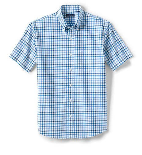 men;s wrinkle free short sleeve shirt