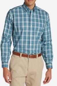 men's wrinkle free tall shirt