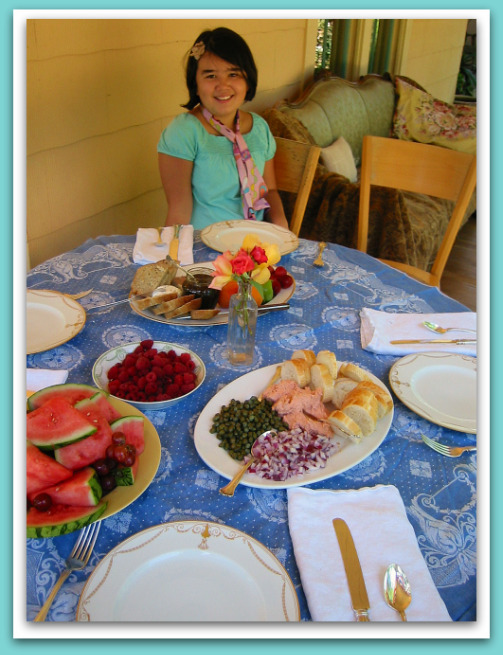 Setting the Table for Miss Olivia & Friends