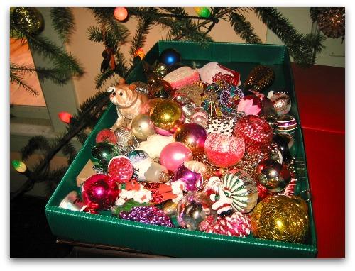 Christmas past tree treasures
