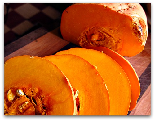 Australian butter squash for pumpkin soup
