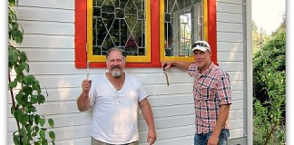 painting my house with jon