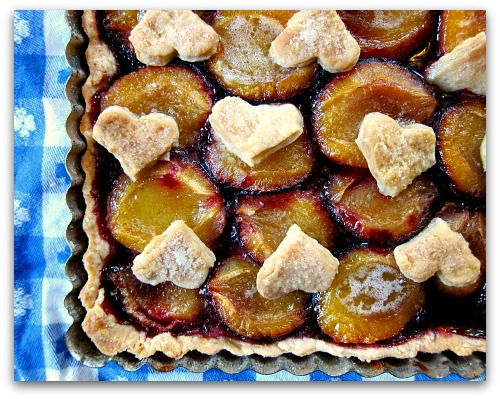 plum tart recipe easy