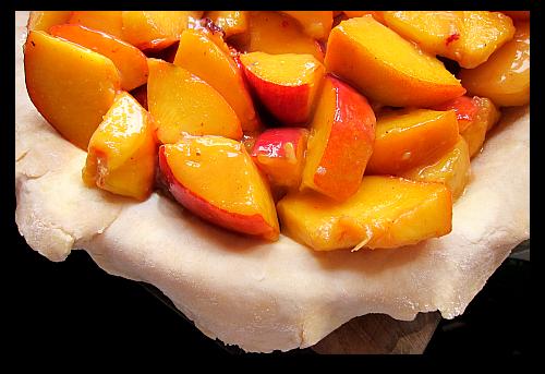 Thespruce Peach Coffee Cake