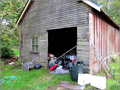 old shop barn