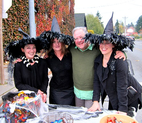The Witches of Burton bring a little style and a lot of candy to town.