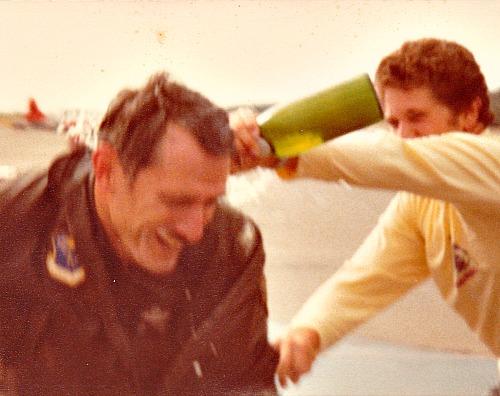 Dad's last flight in a fighter jet