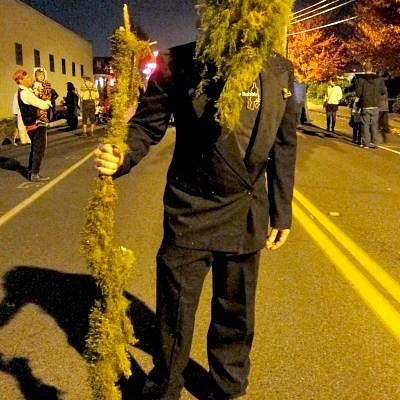 Vashon Island Halloween Spills Into the Streets