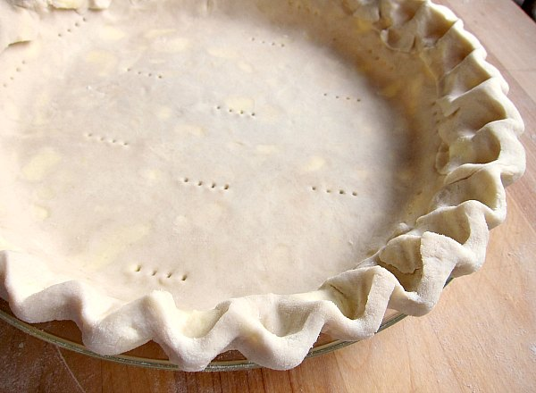 fluted pie dough pie pan