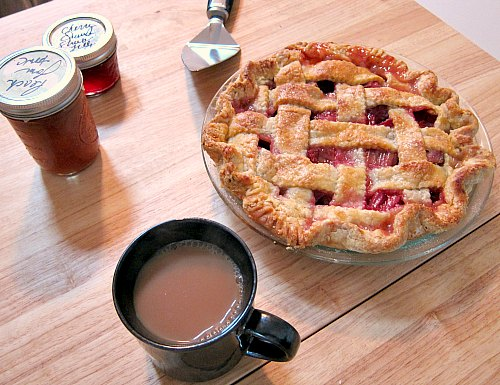 rhubarb pie kate McDermott