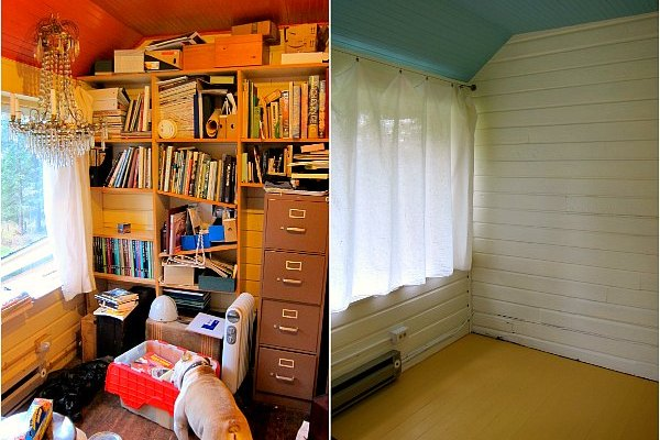 Room Makeover: Sleeping Porch to Orderly Office