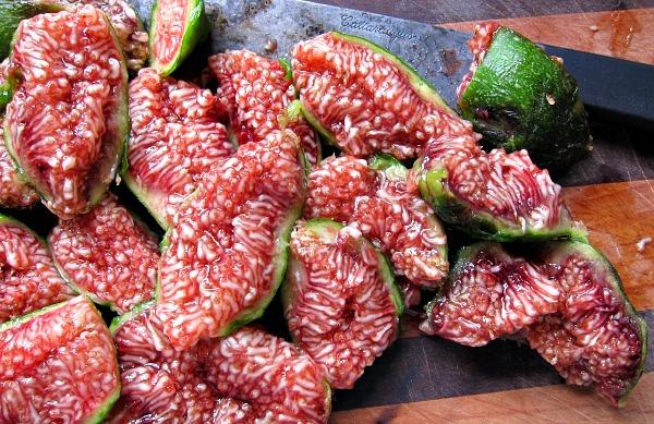 very ripe figs, dessert king figs